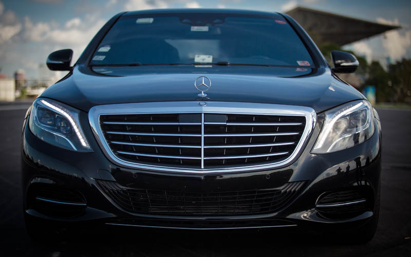 Luxury Mercedes S Class Sedan