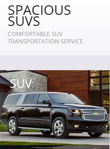 SPORT UTILITY VEHICLE (SUV) – Chevy Suburban